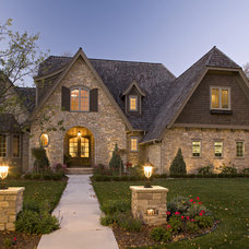traditional exterior by Stonewood, LLC