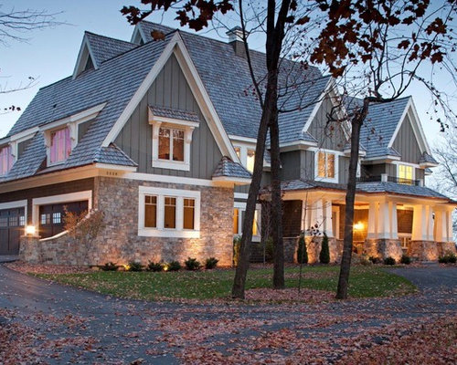 Stone Brick Shake Combination Ideas Pictures Remodel And