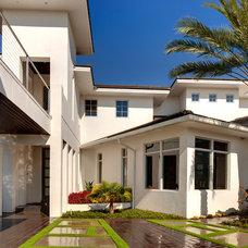 Contemporary Exterior by Sunscape Homes, Inc