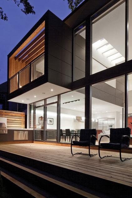 Modern Exterior by Taylor Smyth Architects