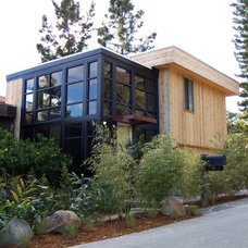 Contemporary Exterior by Thompson Naylor Architects Inc