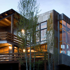 Contemporary Exterior by Vertical Arts Architecture