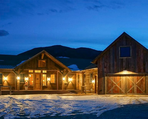 Rustic Western Ranch House