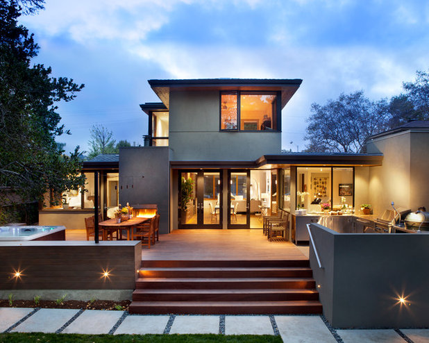 Contemporary Exterior by ODS Architecture