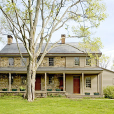 farmhouse exterior by Fredendall Building Company
