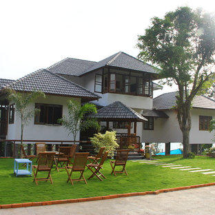 Exterior View with Lawn seating