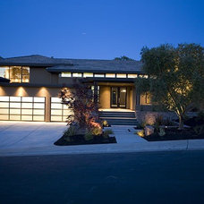 Contemporary Exterior by Dorman Associates, Inc.