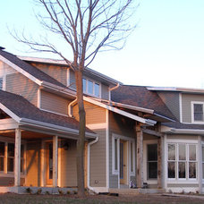 Traditional Exterior by Wade Design & Construction Inc
