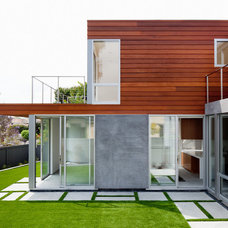 Modern Exterior by Walker Workshop