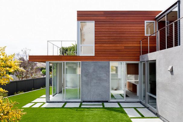 Modern Exterior by Walker Workshop