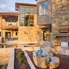Contemporary Exterior by Lightcrafters, Inc.
