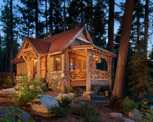 Admirable Small Rustic Cabin Ideas Pictures Remodel And Decor Largest Home Design Picture Inspirations Pitcheantrous