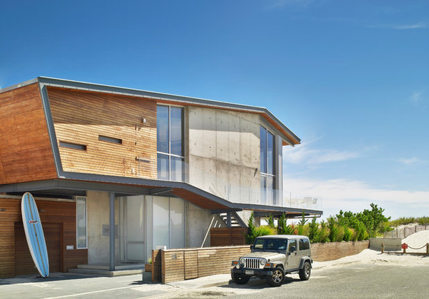 Beach Style Exterior by West Chin Architects & Interior Designers