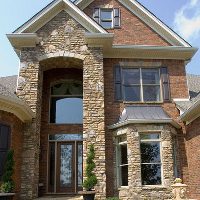 Brick and Stone Exterior  binations in addition Eldorado Stone Exterior Design Ideas additionally Vinyl Siding together with Exterior Paint Color  binations besides Rock On The Wall Design. on rock brick combination exterior home