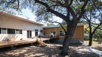 Exterior: Wood and StuccoMax