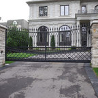 Exterior Wrought Iron Raiings Fence Gates Balcony