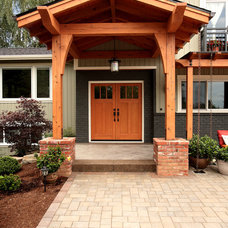 Traditional Exterior by MCM Construction Inc