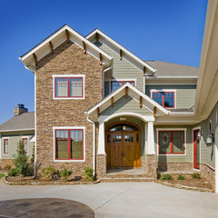 traditional exterior by Artisan Custom Homes