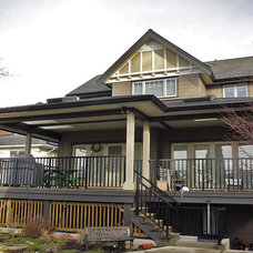 Traditional Exterior by Blackfish Homes Ltd.