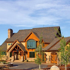 Traditional Exterior by Brannen Design & Construction