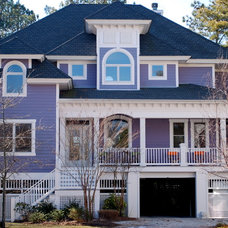 Traditional Exterior by Burton Builders
