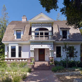 Inspiration for an eclectic exterior home remodel in San Francisco