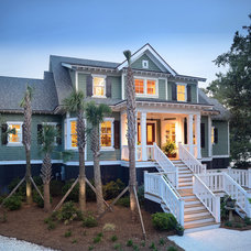 Beach Style Exterior by Dolphin Architects & Builders, Inc.