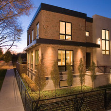 Contemporary Exterior by Environs Development