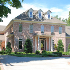 Traditional Exterior by Frawood Custom Builders