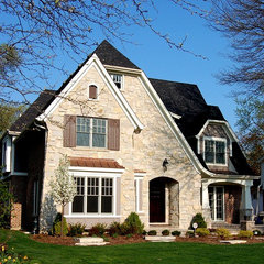traditional exterior by Greenside Design Build LLC