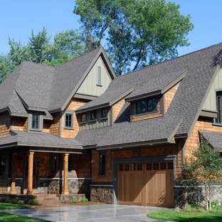 Traditional exterior home idea in Minneapolis