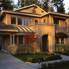 Mediterranean Exterior by Hill Custom Homes