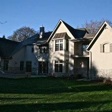 Traditional Exterior by Joel Andersen Homes LTD