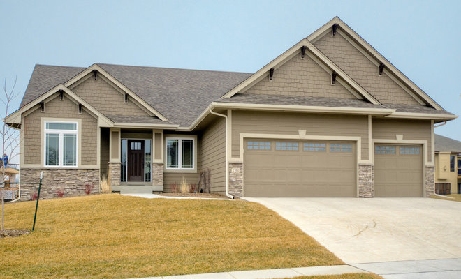 Traditional Exterior by Ironwood Homes