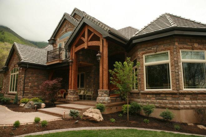 Traditional Exterior by Joe Carrick Design - Custom Home Design