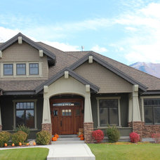 Craftsman Exterior by Joe Carrick Design - Custom Home Design