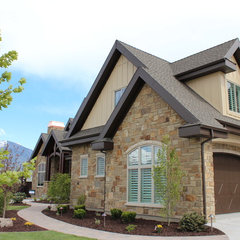 traditional exterior by Joe Carrick Design - Custom Home Design