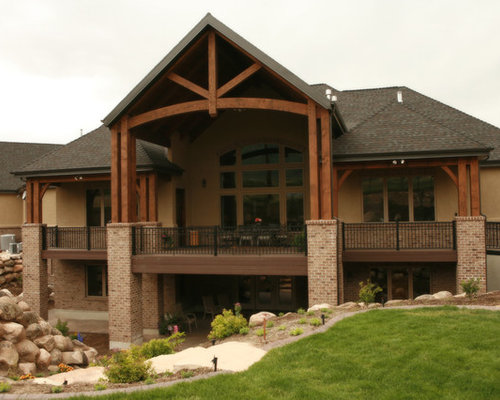 Covered Deck Designs Ideas, Pictures, Remodel and Decor on Covered Back Deck Designs id=74231