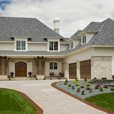 Traditional Exterior by Kathie Karsnia Interiors