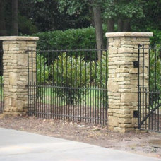 Traditional Exterior by Luck Stone Center