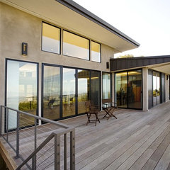 contemporary exterior by Mark English Architects, AIA