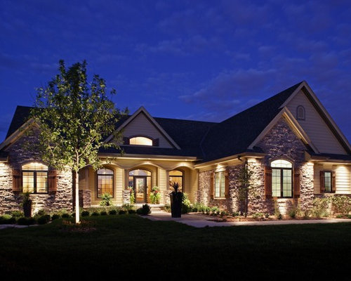 Amazing Houzz Facade Lighting Design Ideas Remodel Pictures Largest Home Design Picture Inspirations Pitcheantrous