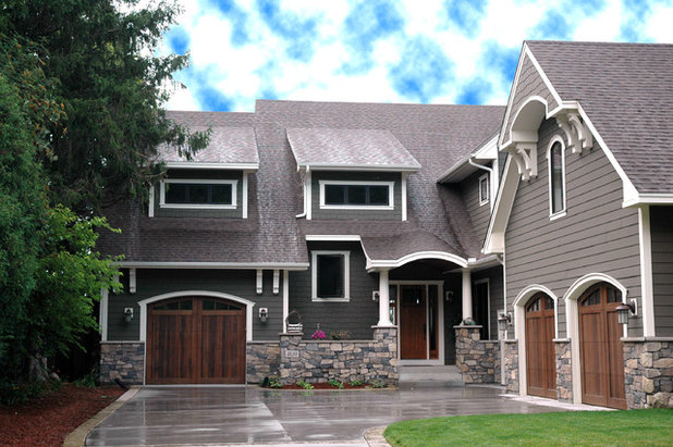 Outstanding Home Exteriors Take Color Cues From Stone Largest Home Design Picture Inspirations Pitcheantrous