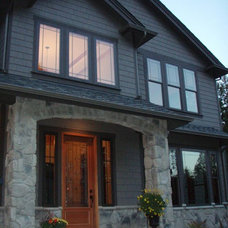 Traditional Exterior by NDK Construction, Inc.