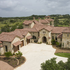 Mediterranean Exterior by Stadler Custom Homes