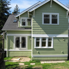 Traditional Exterior by Potter Construction Inc