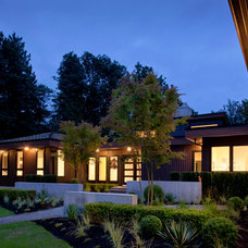 Contemporary Exterior by Revival Arts   Architectural Photography