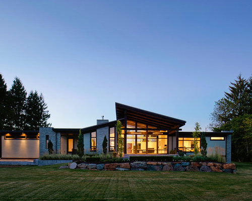 Modern Ranch Exterior Design Ideas Amp Remodel Pictures Houzz