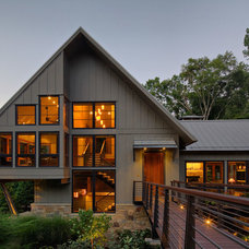 Rustic Exterior by Scott Pease Photography