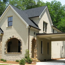 Traditional Exterior by Sharon Meyer Interiors